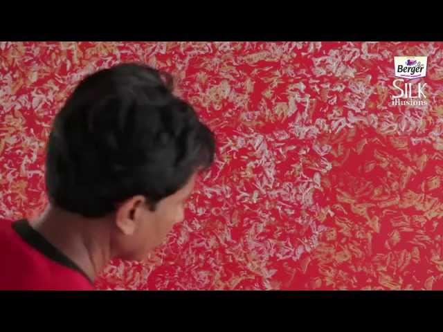 Berger Paints Silk Illusions - Metallica Finish - English - 2014