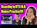 BTS N.O. DANCE PRACTICE REACTION
