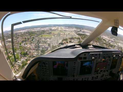 Awesome Cockpit Audio, Premier 1 landing