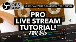 How to stream like a pro! - Multi Cams, Professional Audio and much more!