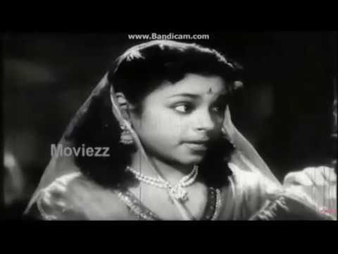 Thookku Thookki 1954  --  Eraatha Malaithanilae & Connected Scene