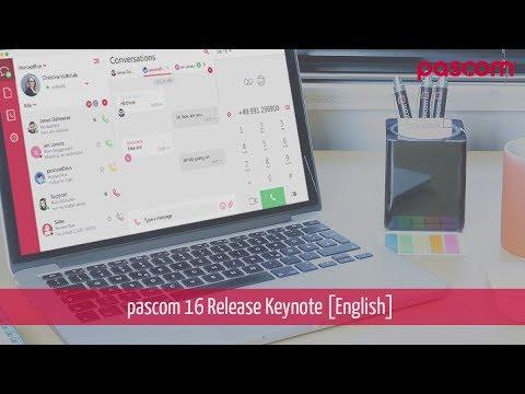 pascom 16 Keynote [english]