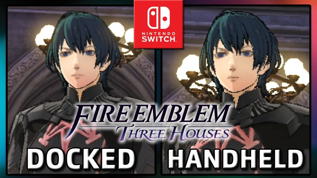 Fire Emblem: Three Houses | Docked VS Handheld | Graphics Comparison & Frame Rate Test