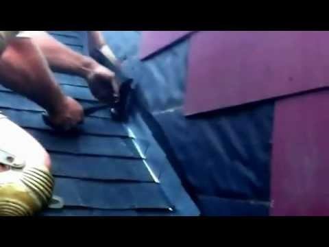 How To Install Step Flashing On A Roof Youtube