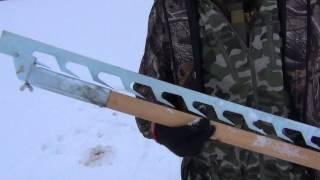 Льодобур Rapala ножі не знімні. Пила для льоду. Зимова риболовля. Ice fishing