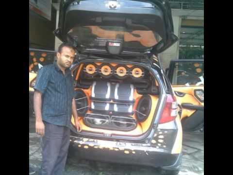 car audio fitting