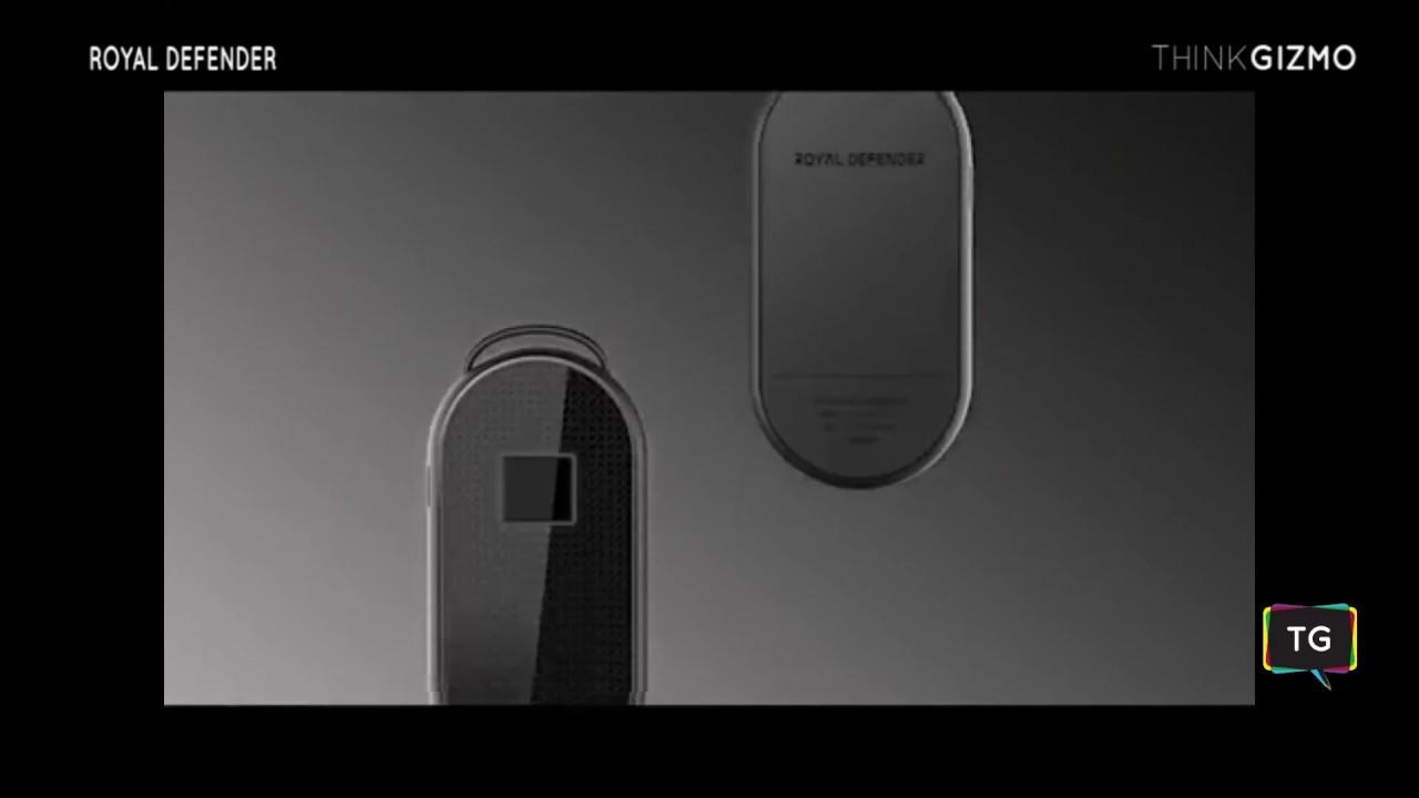 0e5df4b84a2e Royal Defender Biometric Padlock