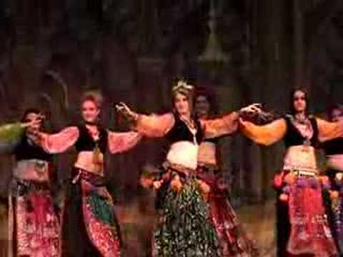 inFusion Tribal Bellydance - group improv and solos
