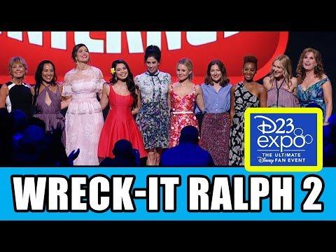 Wreck-It Ralph 2 & Disney Princesses Presentation At D23 Expo