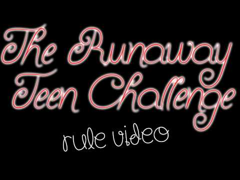 The Sims 3: Runaway Teen Challenge (Rules)