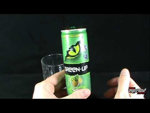 Random Spot - Green-up Tropical Energy Drink.avi