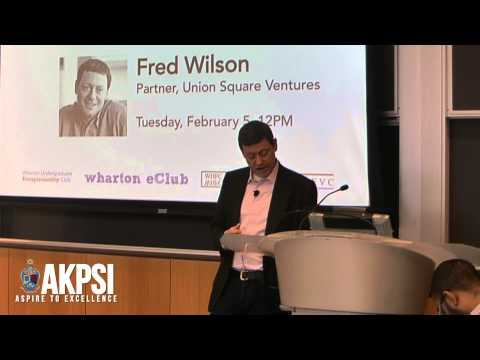 "Fred Wilson - ""On Being A Contrarian"" (1/7)"