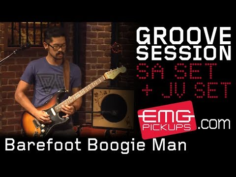 GrooveSession performs 'Barefoot Boogie Man' for EMGtv