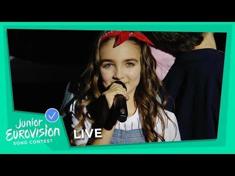 Angélina - Jamais Sans Toi - LIVE - France 🇫🇷 - Junior Eurovision 2018