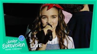 Angelina - Jamais Sans Toi - LIVE - France - Junior Eurovision 2018