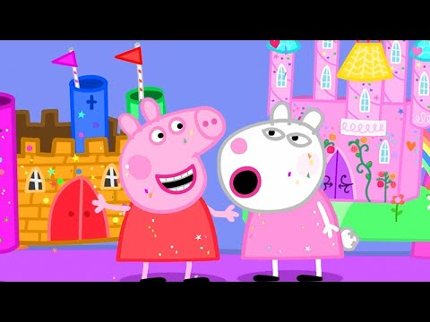 Peppa Pig English Episodes | Peppa's School Project 👨🏼‍🎨 | Peppa Pig Official | 4K