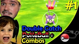 ⚡️ POKEMON: LET'S GO #1 - 2 JOGADORES | POKEBALL PLUS - DOUBLE CATCH - COMBO CAPTURE