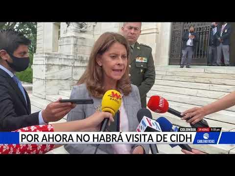 Colombia le dice no a la solicitud de la CIDH de visitar al país