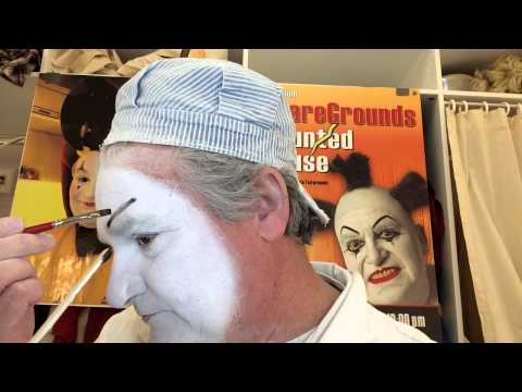 How to do clown Timoniac makeup tutorial by jokestersOrg Steve Bauer