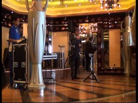 """Karaoke singing """"Long and winding road"""" by Williamaupoyee (歐寶誼) on Baltic cruise."""