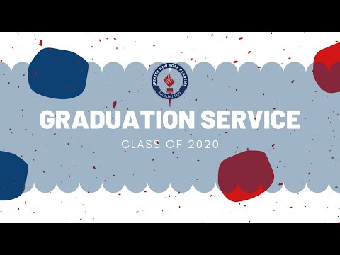 Greater New York Academy Commencement Service 2020