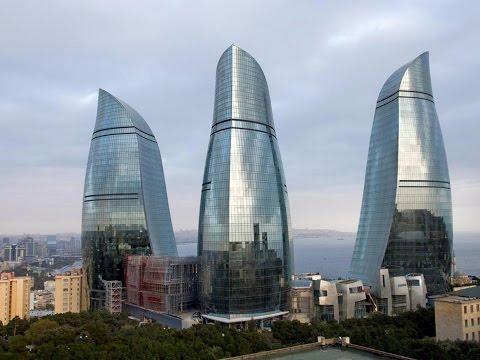 السياحة المذهلة | تغطية الأخ ناصر من الامارات لباكو عاصمة أذربيجان |  Baku capital of Azerbaijan