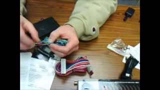 Car Alarm and Remote Start Wiring In Detail