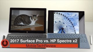 2017 Surface Pro vs. HP Spectre x2 Comparison Smackdown