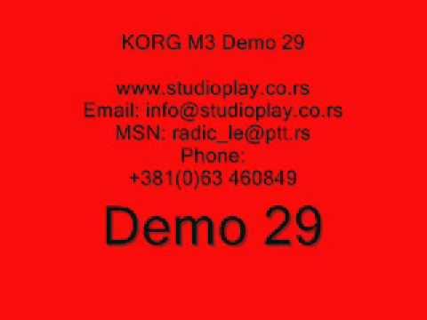 korg m3 Radic Set