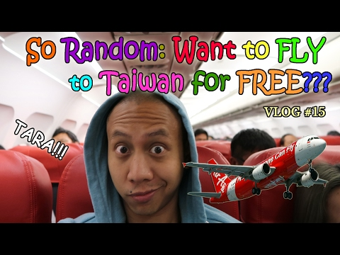 SO RANDOM: WANT TO FLY TO TAIWAN FOR FREE?! | Vlog #15
