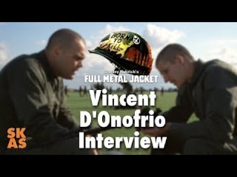 Full Metal Jacket : Vincent D'Onofrio Interview (2017)