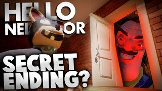 Hello Neighbor Alpha 2 - SECRET ENDING THEORY (Hello Neighbor Alpha 2 Gameplay)