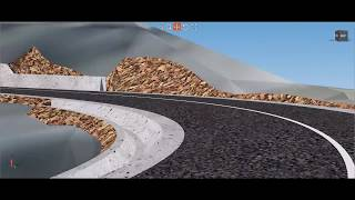 Civil Site Design - Rural Road Design in Romania