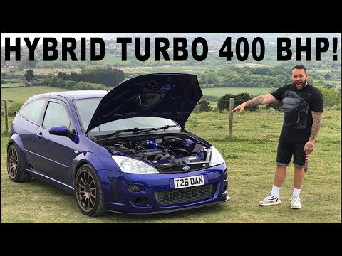 400 BHP, HYBRID TURBO, SABER TUNED MK1 FOCUS RS - MK1 Ford Focus RS Review
