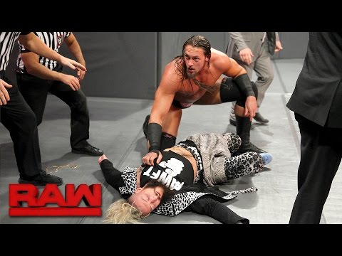 Enzo Amore is ambushed before the Six-Man Tag Team Match: Raw, April 24, 2017