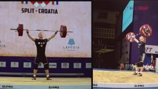 European Weightlifting Championships 2017 Men Senior 69 kg B