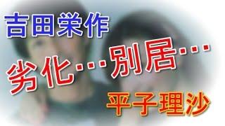 吉田栄作と劣化した平子理沙 別居から離婚へ 「FRIDAY」の報道で...
