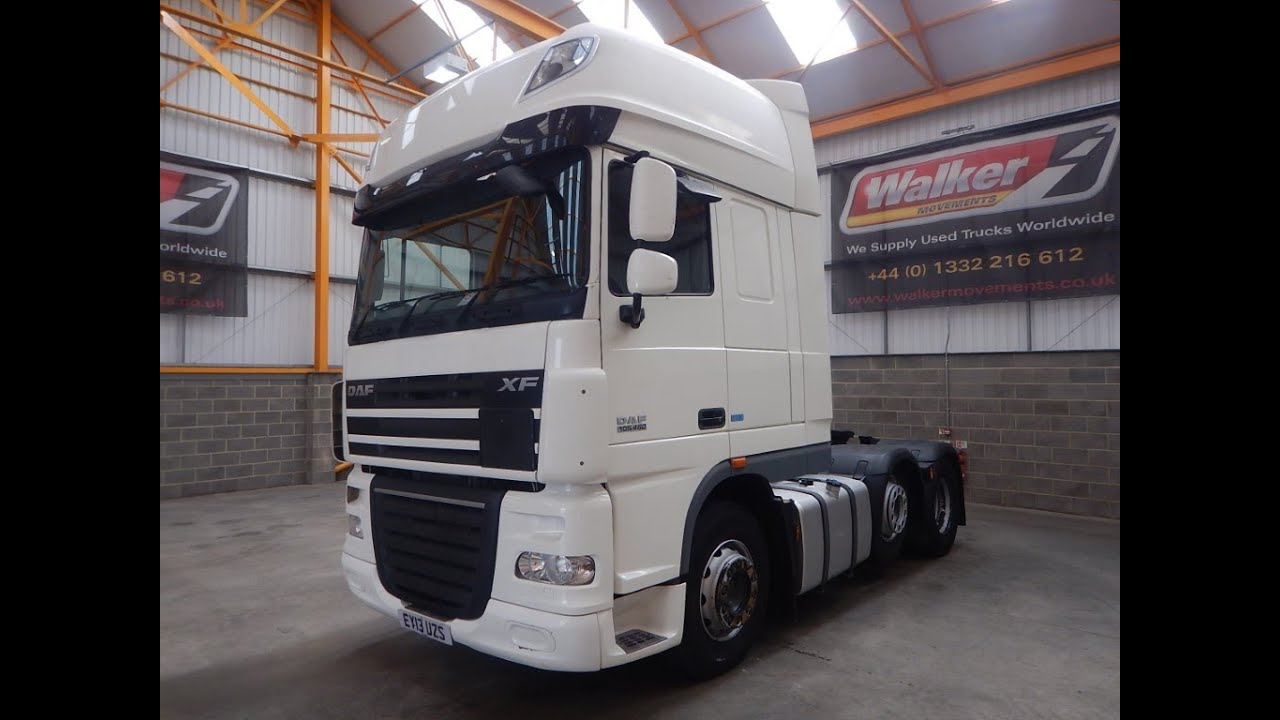 New In Stock List For Sale - DAF XF105 460 SUPERSPACE EURO 5 TRACTOR UNIT -  2013 - EY13 UZS