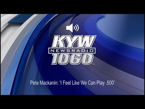 Pete Mackanin: 'I Feel Like We Can Play .500'; Audio Excerpt