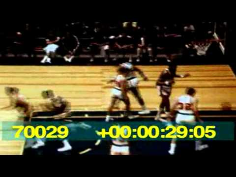 1967-68 Sonics vs. Sixers Highlights