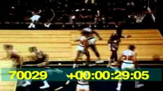 1967-68 Sonics vs. Sixers Highlights
