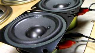 test YAMAHA Speaker unit XY129A0 8cm (Bass I Love You)