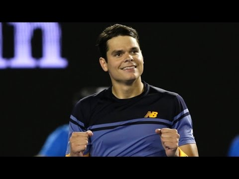 Milos Raonic vs Kyle Edmund 1/4 FULL MATCH HD DELRAY BEACH O