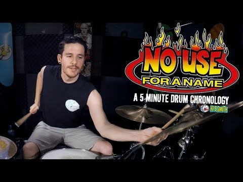 No Use For A Name: A 5 Minute Drum Chronology - Kye Smith [4K]