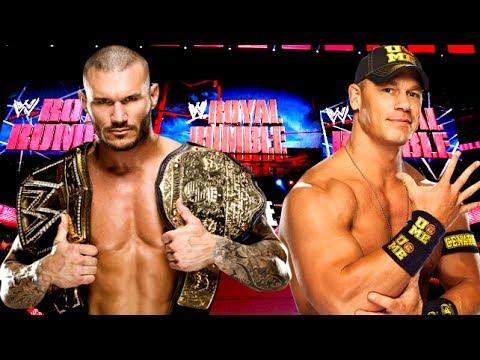 WWE Royal Rumble 2014 Randy Orton vs John Cena WWE World ...  WWE Royal Rumbl...
