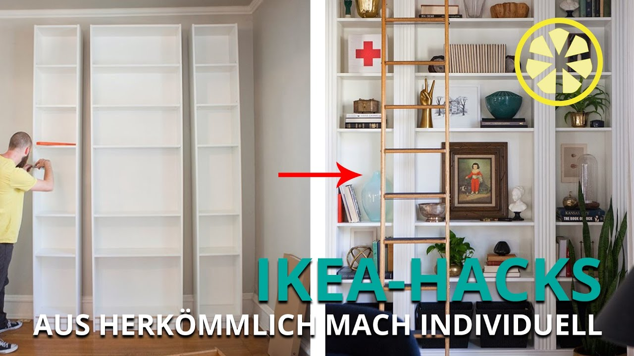 ikea hacks billy und co mal anders youtube. Black Bedroom Furniture Sets. Home Design Ideas