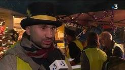 Gilets jaunes de Graulhet (Tarn) : réveillon de Noël aux petits oignons