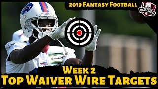 2019 Fantasy Football Rankings - Week 2 Top Waiver Wire Players To Target