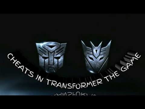 HOW TO PUT CHEATS ON TRANSFORMER 1 THE GAME (CHEAT LIST)
