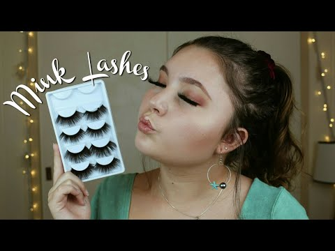76901b14bde $3 MINK LASHES?!?! Amazon Review - YouTube